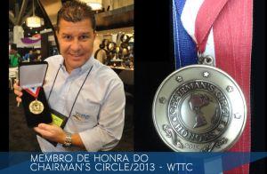 2013-Membro de Honra do Chairman's Circle - WTTC